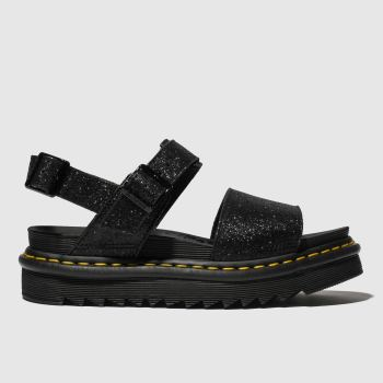 Dr Martens Black Voss Womens Sandals