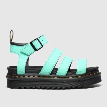 Dr Martens Green Blaire Sandal c2namevalue::Womens Sandals