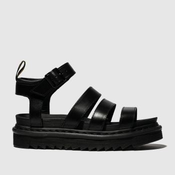 Dr Martens Black Blaire Sandal c2namevalue::Womens Sandals