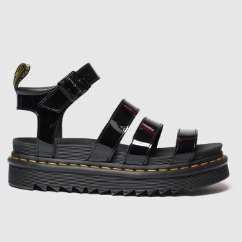 Dr Martens Black Blaire Womens Sandals
