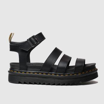 Dr Martens Black Vegan Blaire Sandal c2namevalue::Womens Sandals