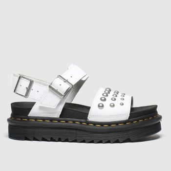 Dr Martens White Voss Stud Womens Sandals
