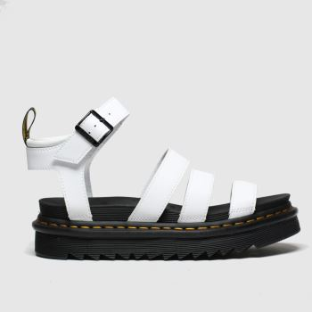 Dr Martens White Blaire Womens Sandals