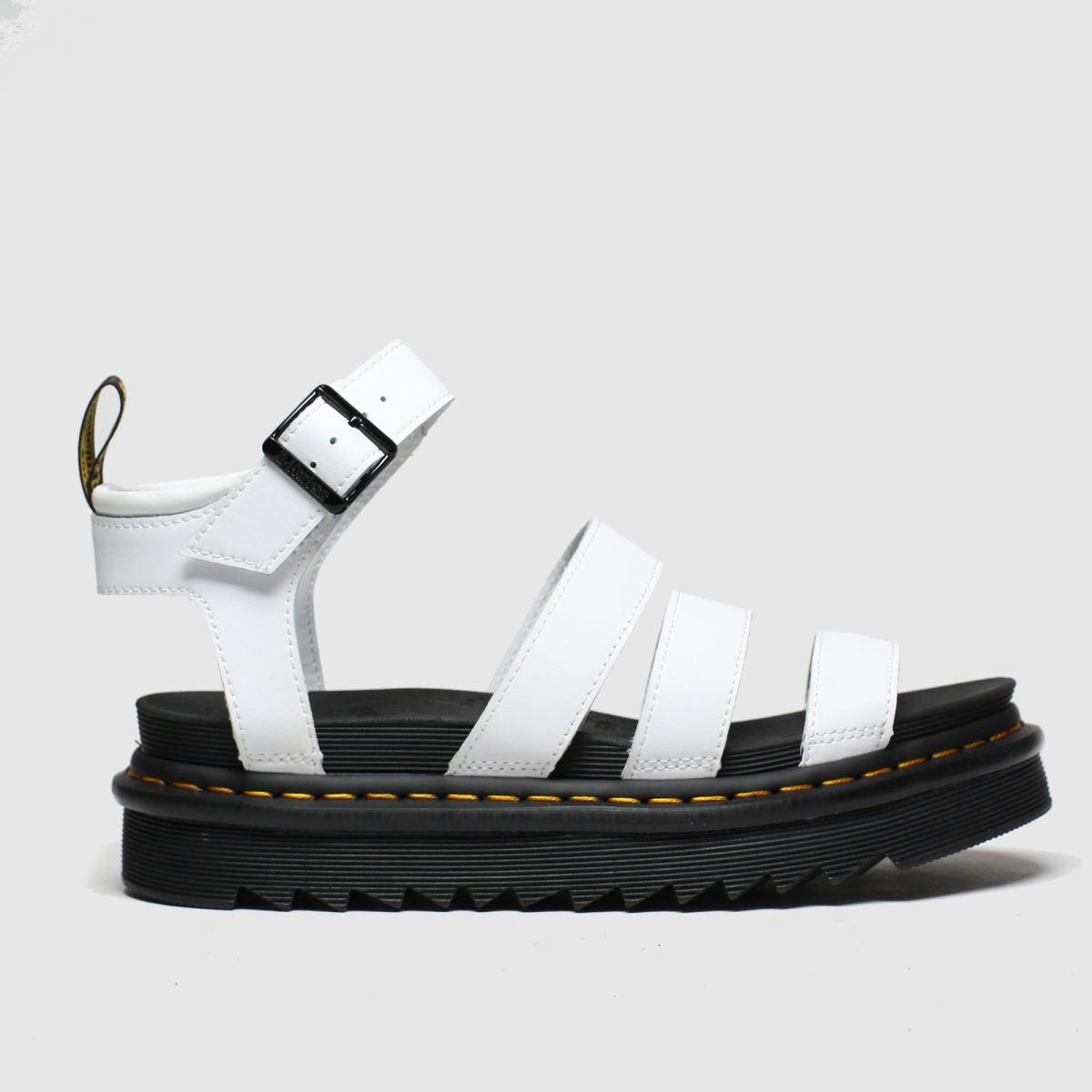 Dr Martens White Blaire Sandal Sandals