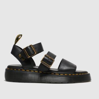 Dr Martens Black Gryphon Quad Womens Sandals