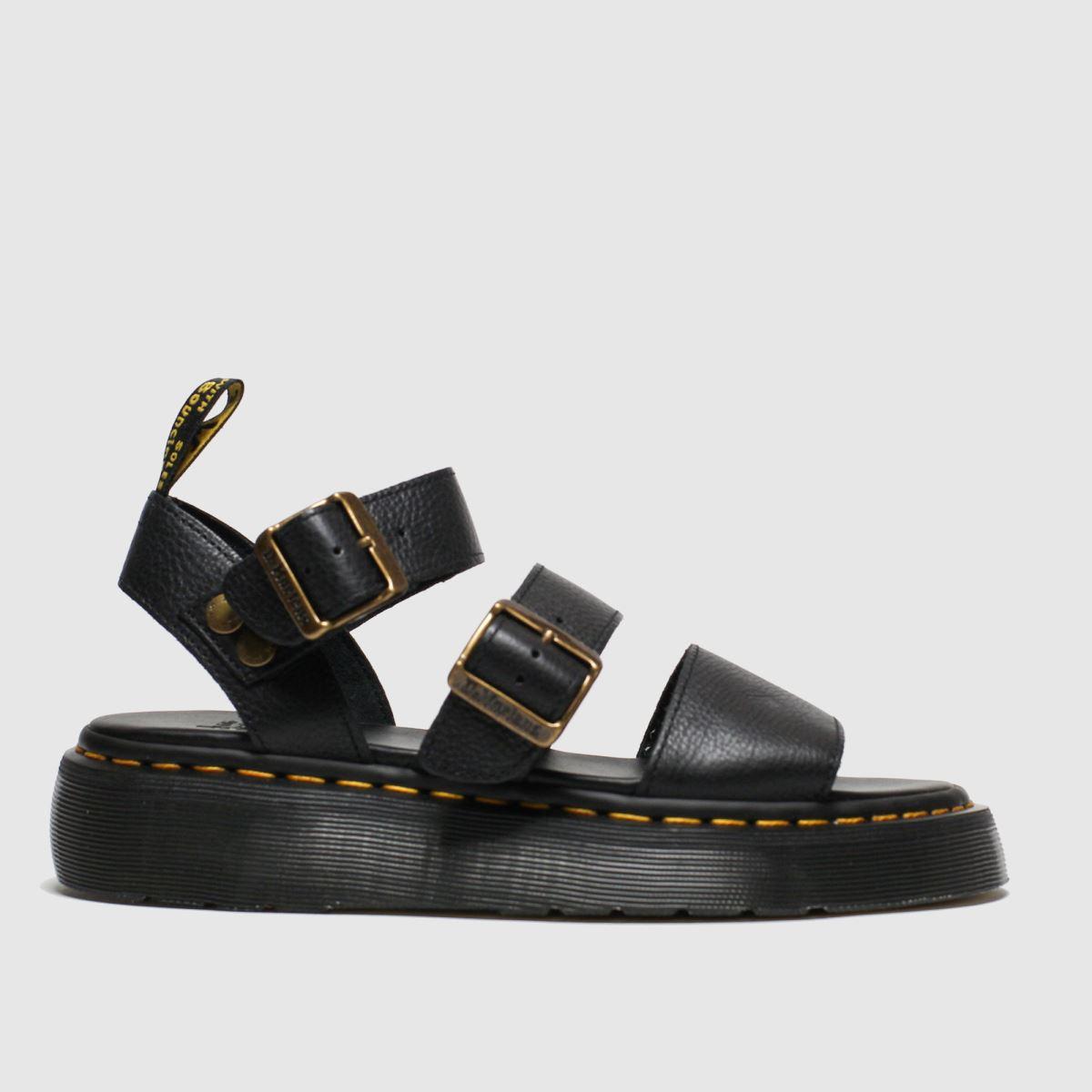 Dr Martens Black Gryphon Quad Sandal Sandals