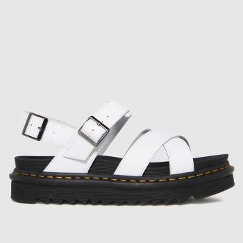 Dr Martens White Voss Ii Womens Sandals