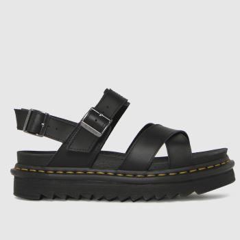 Dr Martens Black Voss Ii Womens Sandals