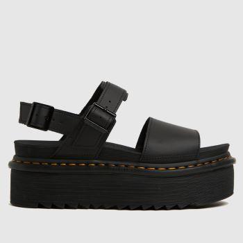 Dr Martens Black Voss Quad Womens Sandals