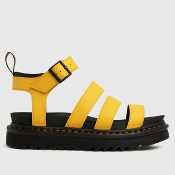 Dr Martens Yellow Blaire Womens Sandals