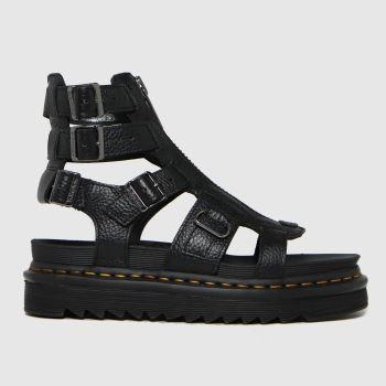 Dr Martens Black Olson Womens Sandals