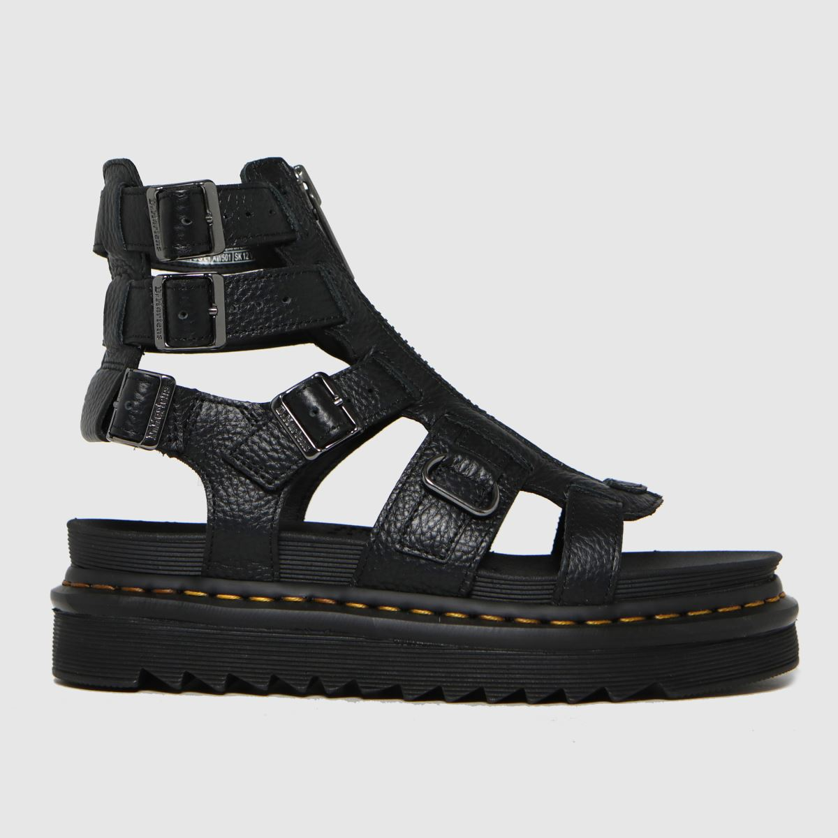 Dr Martens Black Olson Sandals