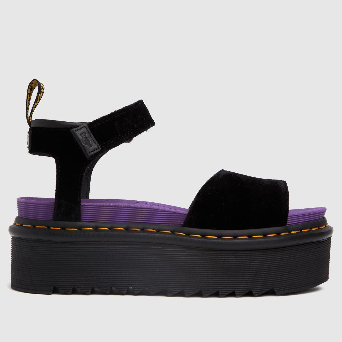 Dr Martens Black Zebrillus Sandal X-girl Sandals