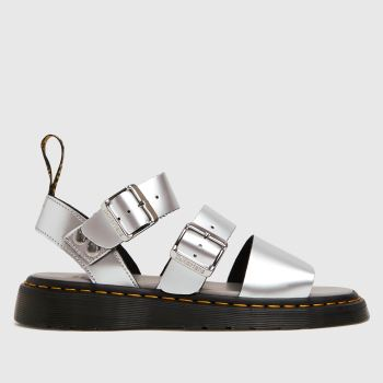 Dr Martens Silver Gryphon Womens Sandals