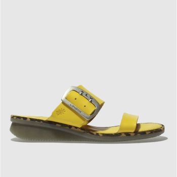 Fly London Yellow CAPE Sandals