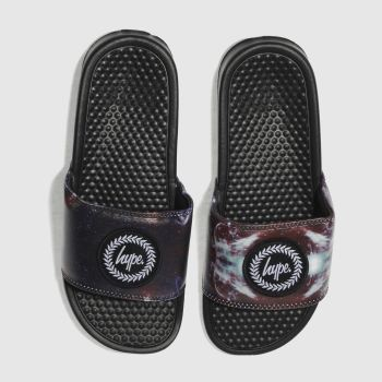 Hype Multi Astro Galaxy Slider Womens Sandals