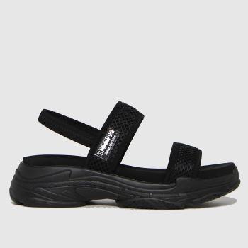 Steve Madden Black Samurai Womens Sandals