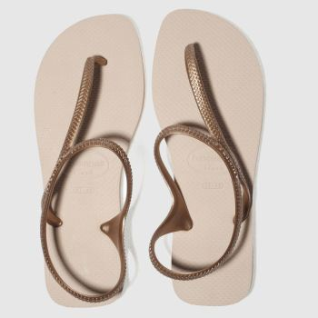 Havaianas Pale Pink FLASH URBAN Sandals