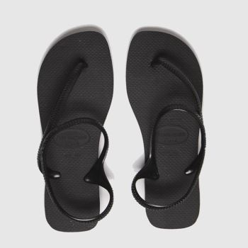 Havaianas Black Flash Urban Womens Sandals