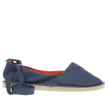 HAVAIANAS NAVY ORIGINE SLIM FLAT SHOES