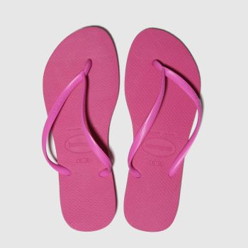 Havaianas Pink Slim Womens Sandals from Schuh