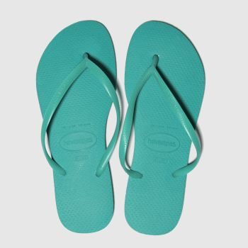 Havaianas Turquoise Slim Womens Sandals