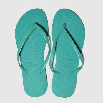 c8ff402b5 Havaianas Turquoise Slim Womens Sandals