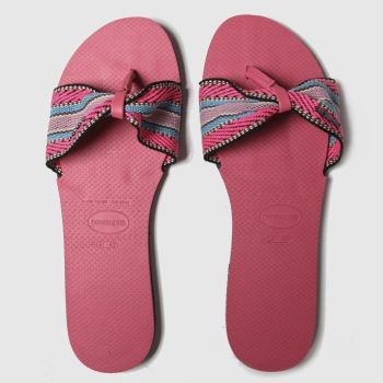 Havaianas Pink You St Tropez Fita c2namevalue::Womens Sandals