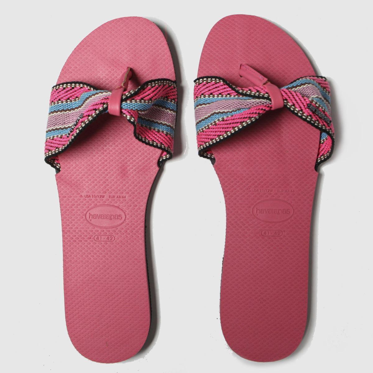 Havaianas Pink You St Tropez Fita Sandals