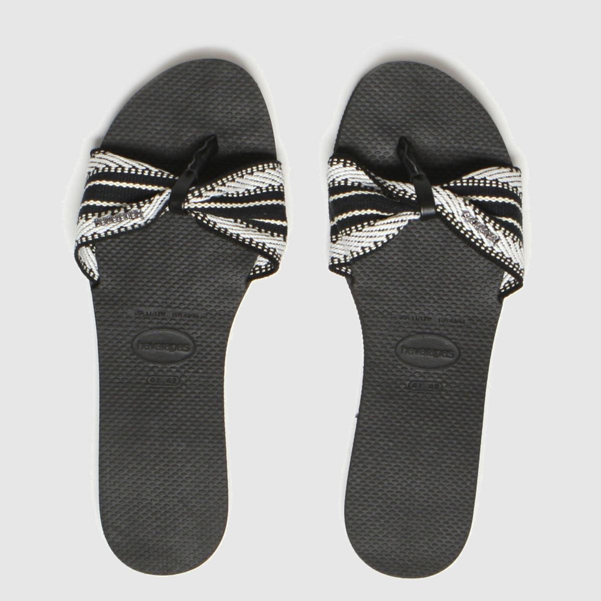 Havaianas Black You St Tropez Fita Sandals