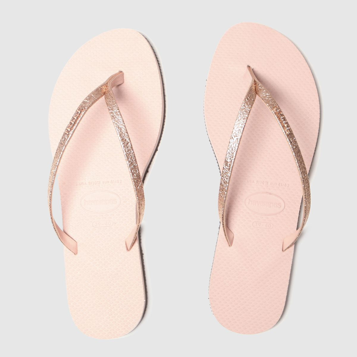 Havaianas Pink You Shine Glitter Sandals