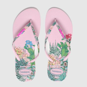 Havaianas Pink Sensation Floral Womens Sandals