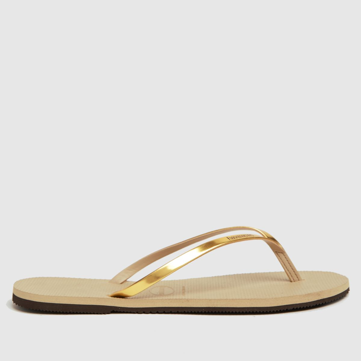 Havaianas Gold You Metallic Sandals