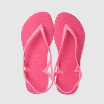 Havaianas Pink Sunny Ii Womens Sandals