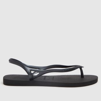 Havaianas Black Sunny Ii Womens Sandals