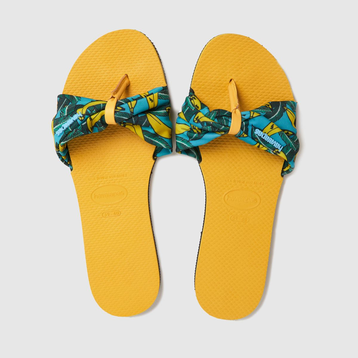 Havaianas Yellow You Saint Tropez Sandals