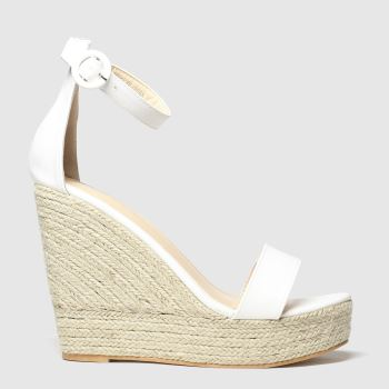 PUBLIC DESIRE White Oprah Womens Sandals