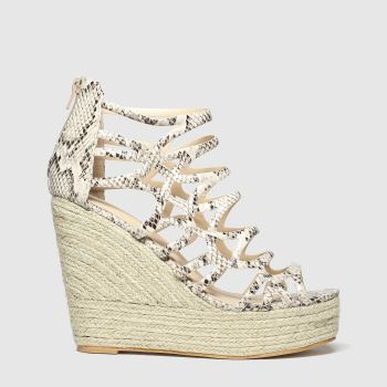 Public Desire Natural Curly Sandals