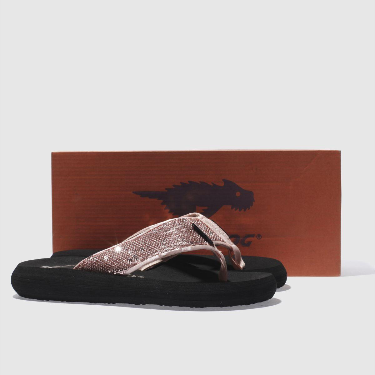 Damen Rosa rocket dog Spotlight Sequins Qualität Sandalen | schuh Gute Qualität Sequins beliebte Schuhe 62a287