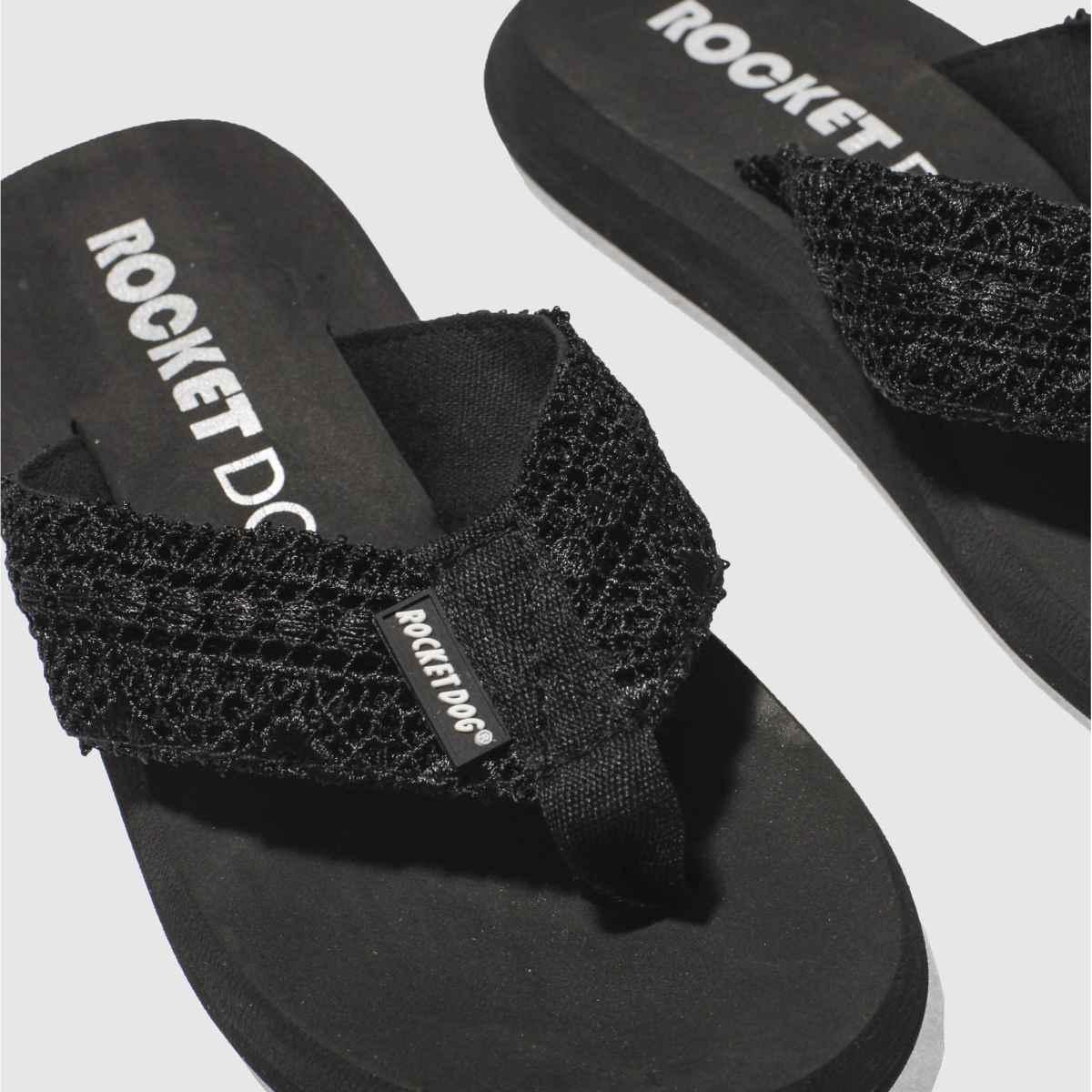 Damen Schwarz rocket dog Spotlight Lima Sandalen | Schuhe schuh Gute Qualität beliebte Schuhe | 5edbd9
