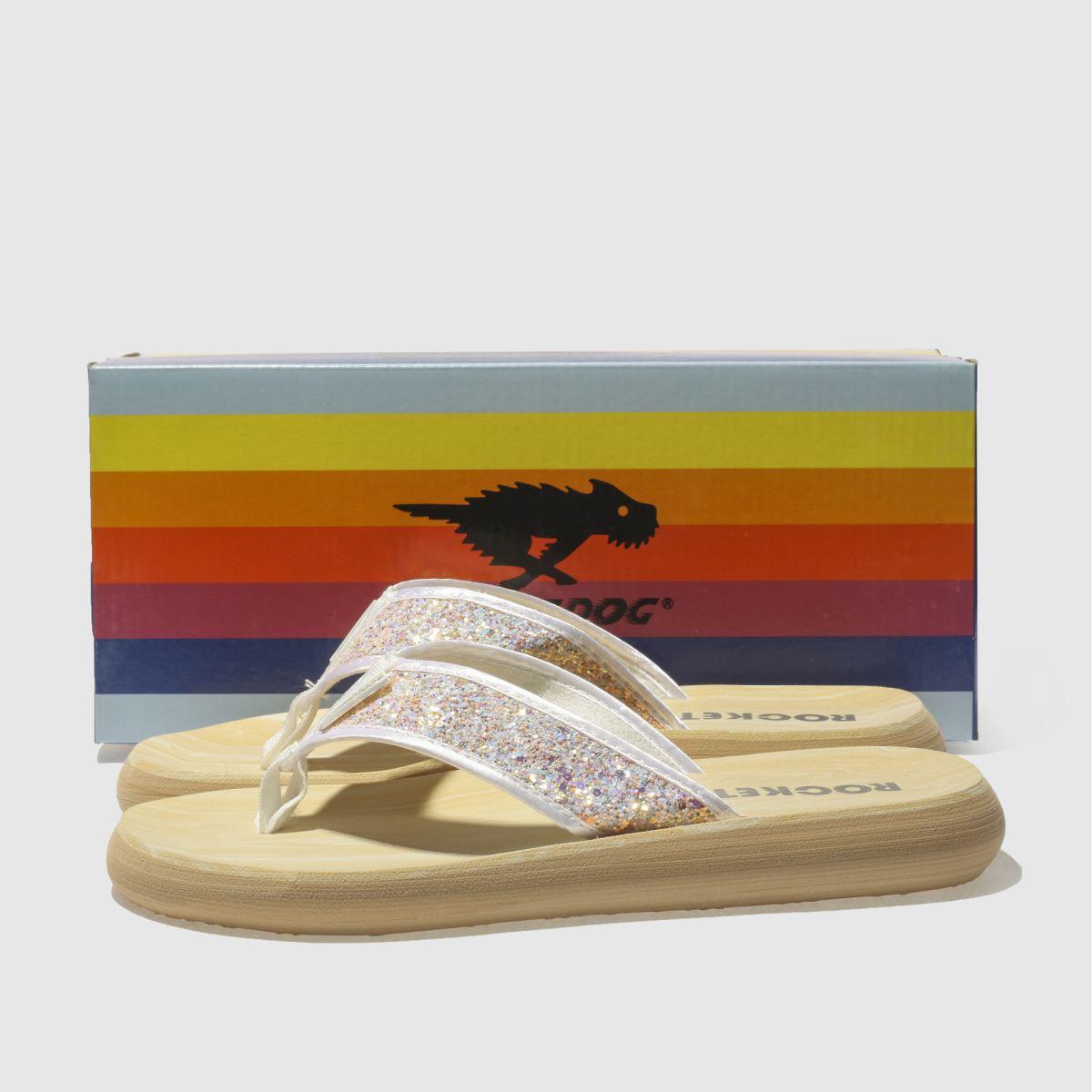 Damen Weiß rocket dog Spotlight Glitter Sandalen | Schuhe schuh Gute Qualität beliebte Schuhe | 02e41d