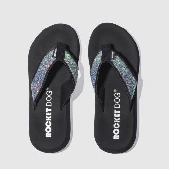 Rocket Dog Multi Spotlight Glitter Womens Sandals