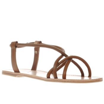 Red Or Dead Brown Rose Womens Sandals