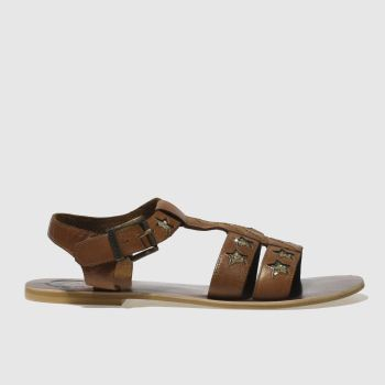 Red Or Dead Tan Eddie Womens Sandals
