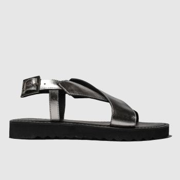 red or dead pewter carter sandals