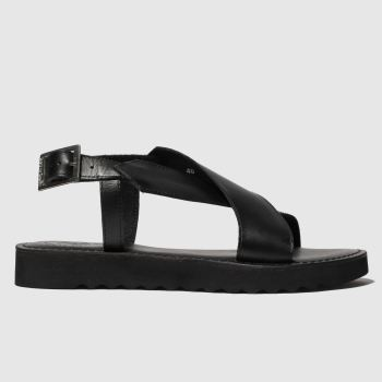 red or dead black carter sandals