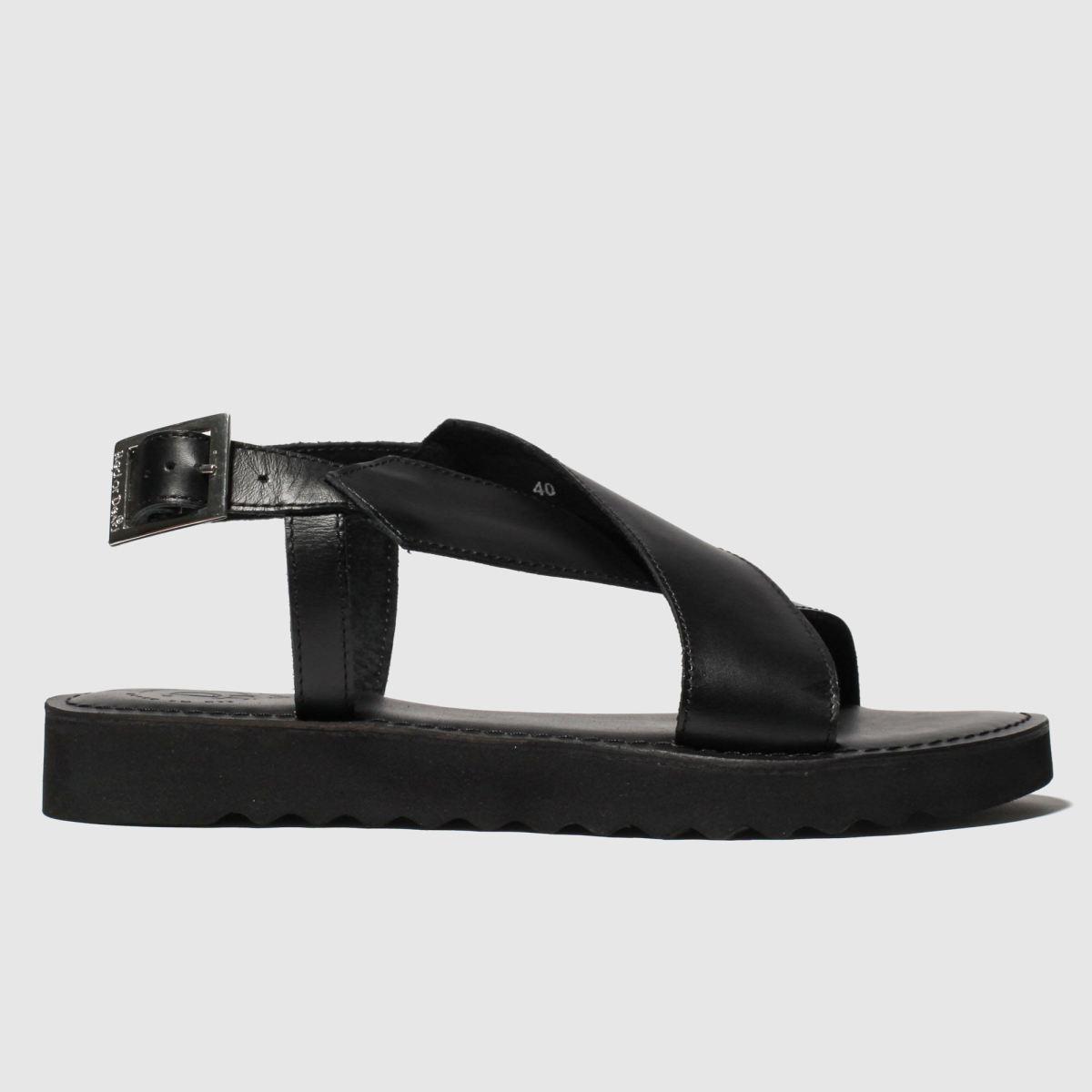 Red Or Dead Black Carter Sandals