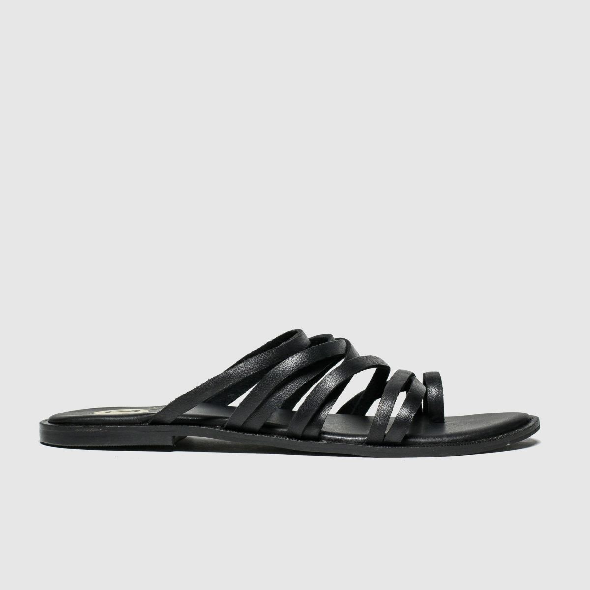 Red Or Dead Black Daryl Sandals
