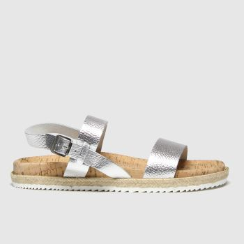 Red Or Dead Silver Flo c2namevalue::Womens Sandals