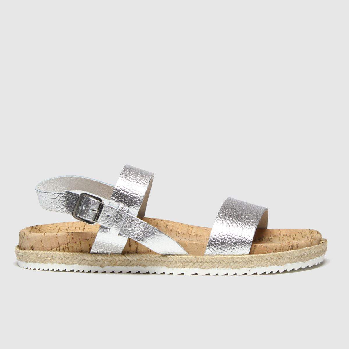 Red Or Dead Silver Flo Sandals